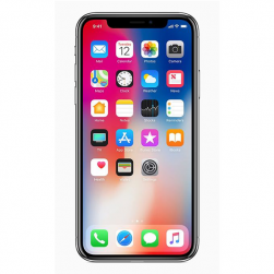 Apple آيفون X- 64 جيجا – رمادي